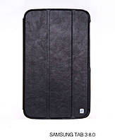 Чехол-книжка для планшета Samsung T310 Galaxy Tab 3 8.0 (HOCO Crystal folder protective case black HS-L060)