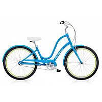 "Велосипед 26"" ELECTRA Townie Original 3i Ladies' Caribbean Blue"