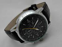 Мужские часы  TISSOT PRC200  кварцевые, корпуса золотистый, циферблат черный, фото 1
