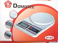 Кухонные электронные весы Domotec SF 400 от 1г до 10 кг , фото 1