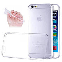 Силиконовый чехол для телефона Sony Xperia E4 white, Ultrathin TPU 0.3 mm cover case
