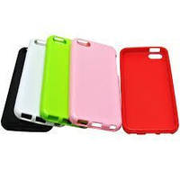 Силиконовый чехол для телефона LG E455/E460 Optimus L5 II, (Jelly TPU cover case white)