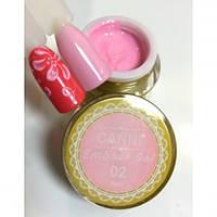 Гель-паста нежно-розового цвета