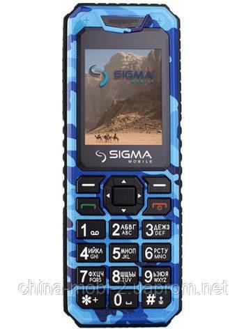 Телефон Sigma mobile X-style 11 Dragon Dual Blue Camouflage ''''', фото 2