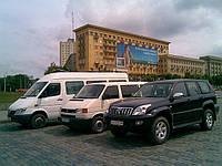 Заказ, прокат микроавтобусов в Харькове
