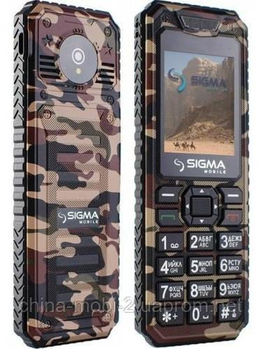 Телефон Sigma mobile X-style 11 Dragon Dual Сoffe Сamouflage
