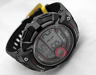 Часы унисекс Q@Q - 10Bar Alarm chrono, можно плавать, противоударные, m068j001y
