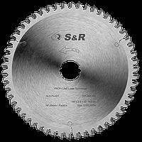 Диск пильный 232х30 Z62 S&R Alu-Plast