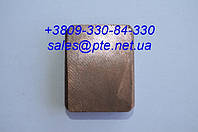 Щетка меднографитовая МГ 12,5х32х40