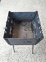 Мангал - чемодан на 6 шампуров переносной