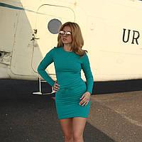 Однотонное облегающее женское платье Eiwa 005