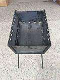 Мангал - чемодан на 8 шампуров, фото 2
