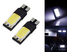 Габаритные огни,габаритки T10 194 501 W5W SMD COB LED (Cold White)