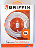 USB кабель Griffin Premium для Apple iPhone 5/5C/5S/6/6 длина 2 метра