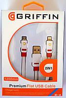 USB кабель Griffin Premium Griffin для Apple iPhone 5/5C/5S/6/6  и MicroUSB