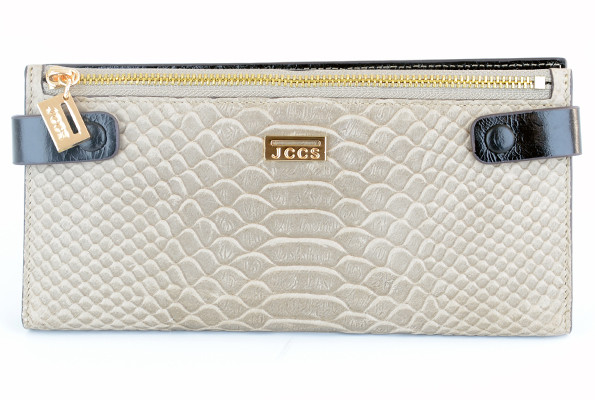 5740ea257e88 Женский кошелек JCCS 1051 серый из натуральной кожи внутри черный -  Shoppingood в Харькове