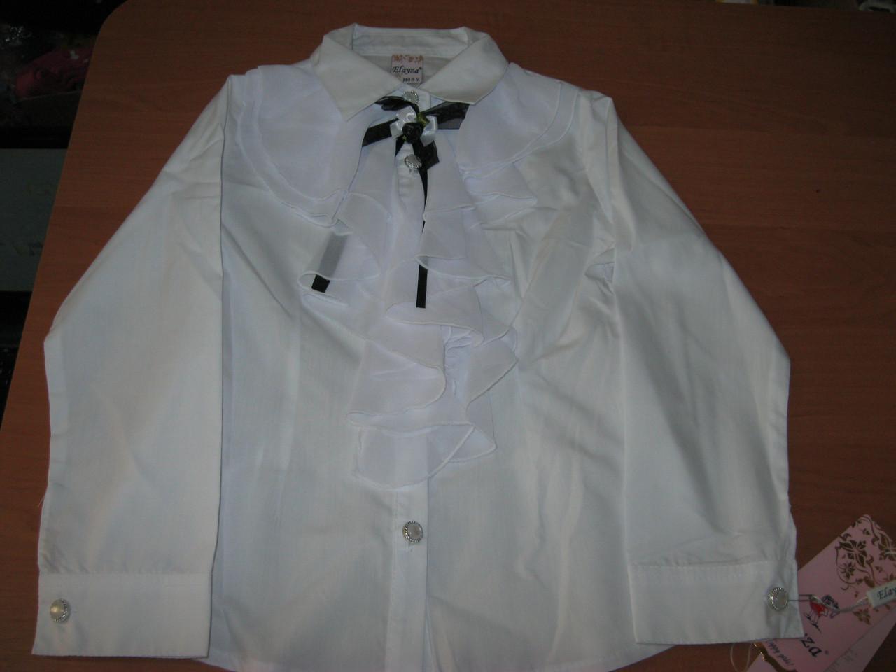 Детская блузка белая купить в