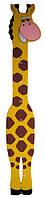 Детский настенный ростомер «Жираф» (101), Funny Animals