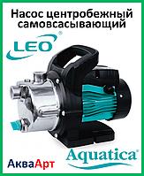 LEO Насос поверхностный центробежный самовсасывающий LKJ-600S (однофазный)