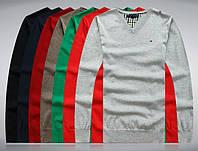 В стиле Tommy hilfiger Мужской свитер пуловер джемпер 100% хлопок, фото 1