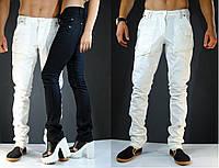 Модные белые мужские штаны