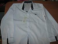 Белая школьная рубашка  с длинным рукавом для   мальчика  11-12 лет Турция
