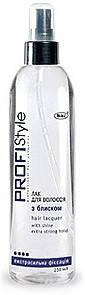 Profi Style Лак для волос с блеском экстрасильной фиксации 250мл