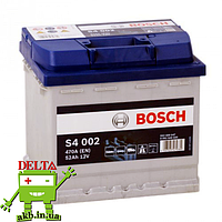 Аккумулятор BOSCH Silver 52 Ah 470A S4 0092S40020