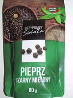 Черный перец молотый (Польша), 80 г Przyprawy swiata