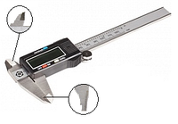 Штангенциркуль ШЦЦТ-I-150 0.01 c тв.спл. губками электронный (Туламаш)