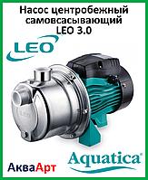 LEO Насос центробежный самовсасывающий «LEO 3.0 innovation»AJm-30S (однофазный)