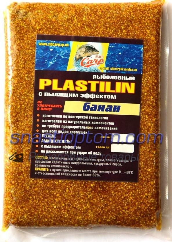 Пластилин рыболовный Sid Carp, Банан, 500гр