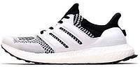 Мужские кроссовки Adidas Ultra Boost White (адидас ультра буст) белые