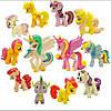 Фигурки My little pony Маленький пони разные 12 шт набор