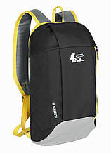 Рюкзак мини Highsee Electron 10 черно-серый