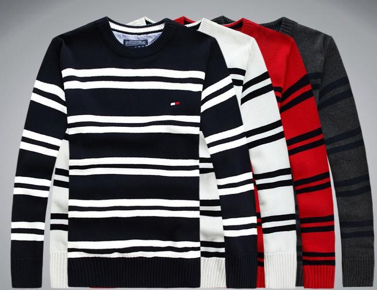 Tomy hilfiger original Мужской свитер tommy пуловер джемпер