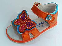 Детские босоножки для девочки яркие 20-25 рр. ТОМ.М
