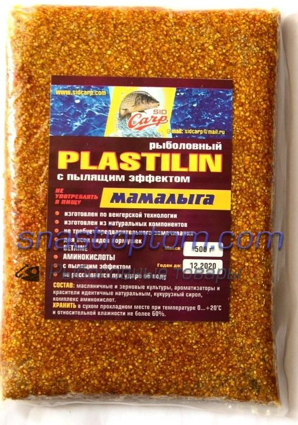 Пластилин для рыбалки Sid Carp, Мамалыга, 500гр