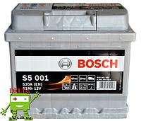 Аккумулятор BOSCH Silver 52 Ah 520A S5 0092S50010