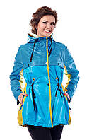 Куртка голубая женская демисезонная В - 943 Тон 509  44-54 размеры