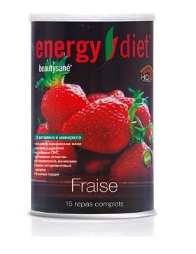 Протеиновый коктейль для похудения Energy Diet HD Клубника 450 г (Франция) Энерджи Диет