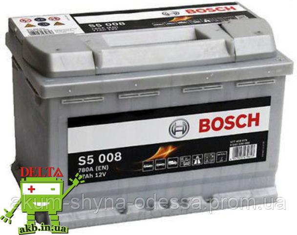 Аккумулятор BOSCH Silver 77 Ah 780A S5 0092S50080