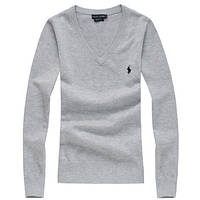 РАЗНЫЕ цвета ральф лорен Женский свитер пуловер джемпер свитшот.