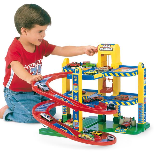 Детские гаражи, парковки