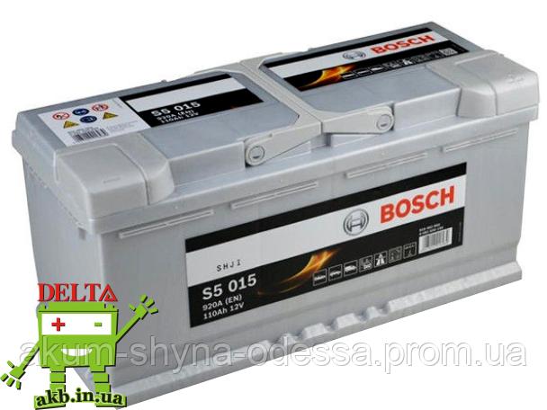 Аккумулятор BOSCH Silver 110 Ah 920A S5 0092S50150