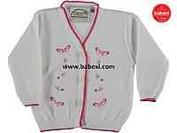Вязанный кардиган для девочки 6-12-18 мес. код.203007