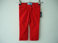 Джинсы (штанишки) Old Navy (красные) skinny