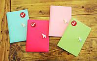 Pony Passport Case (розовый, ментоловый, голубой). Обложка для паспорта, фото 1