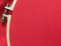 Равномерная ткань - красная (Украина)