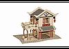 3D пазл домик (3 доски)